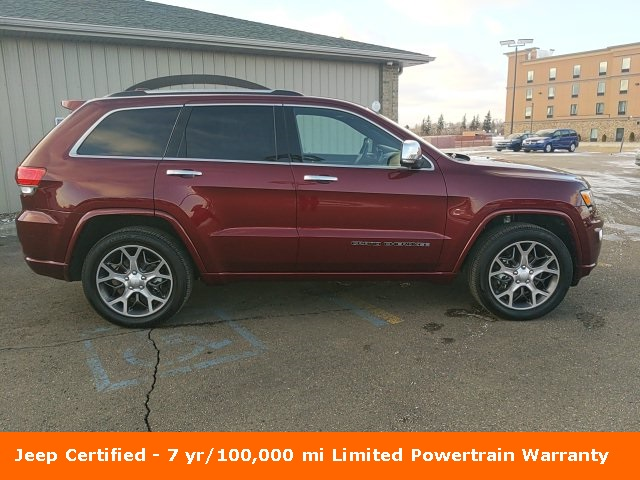 Pre-Owned 2019 Jeep Grand Cherokee Overland