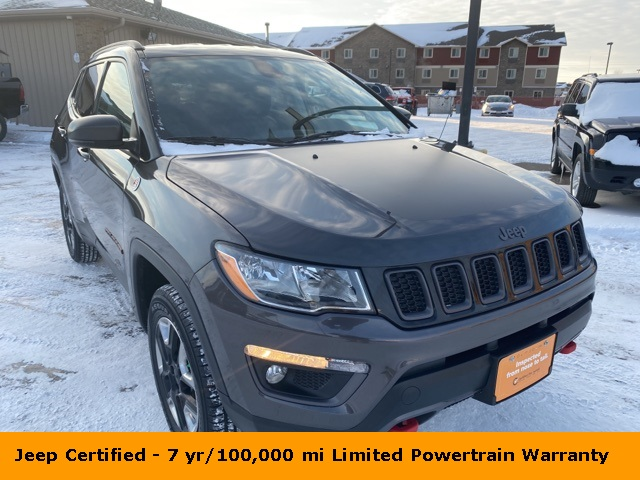 Pre-Owned 2017 Jeep New Compass Trailhawk
